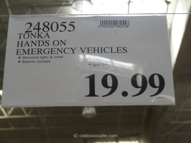 Tonka Hands On Emergency Vehicles Costco 3