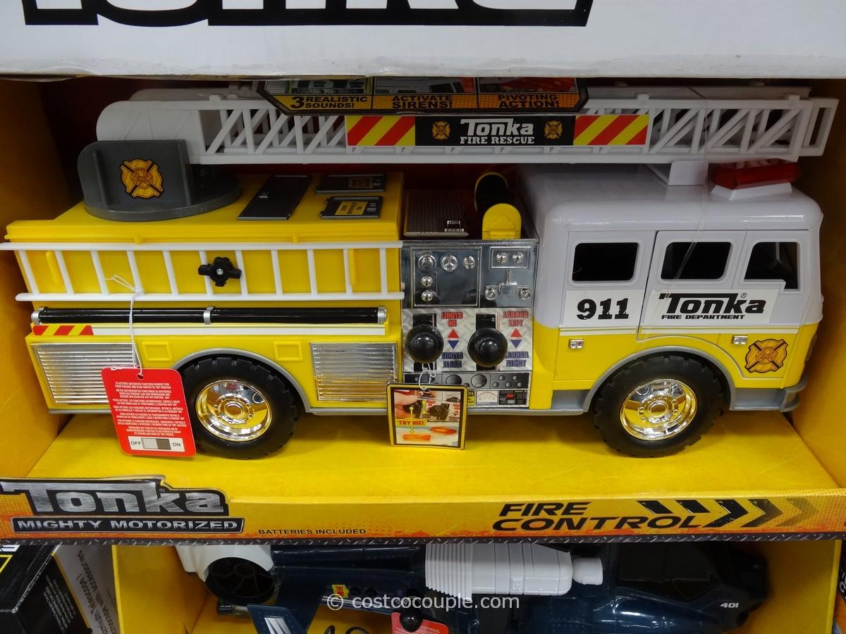Tonka Hands On Emergency Vehicles