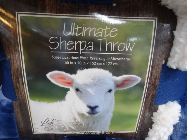 Ultimate Sherpa Throw Costco 2