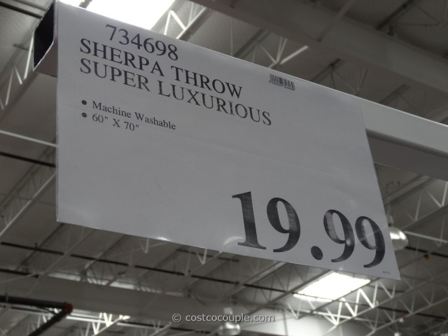 Ultimate Sherpa Throw Costco 3