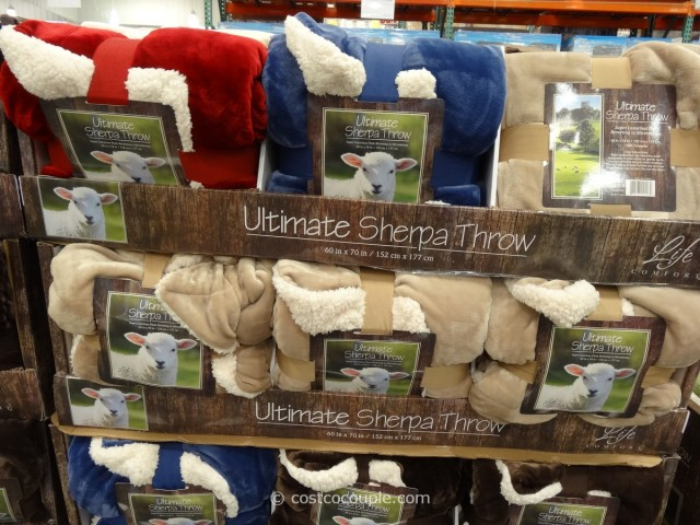 Ultimate Sherpa Throw Costco 6