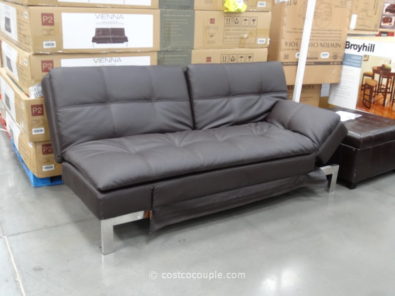 Leather futon sofa bed costco amazing futon sofa bed for Couch 700 euro