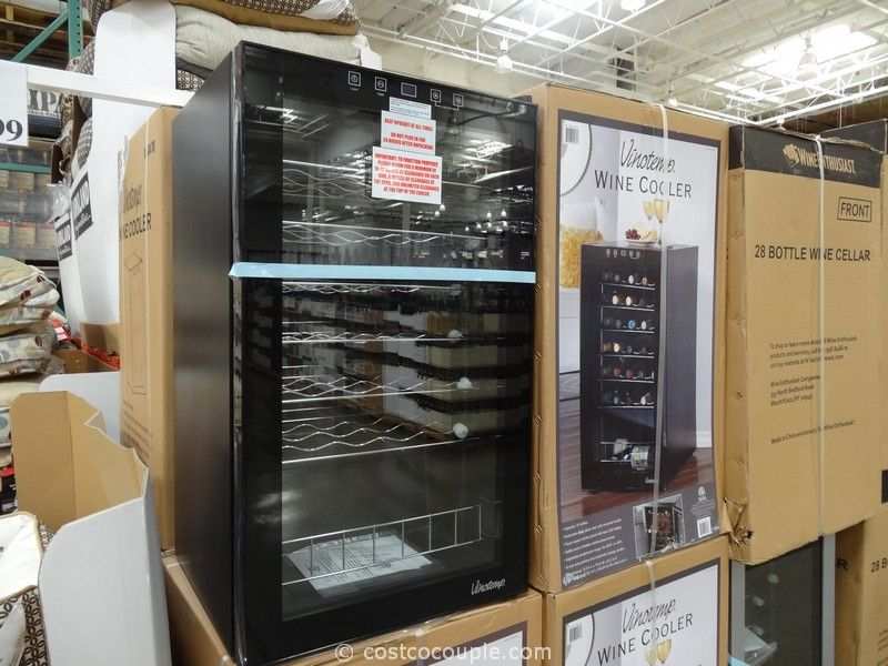 Vinotemp 34-Bottle Wine Cooler Costco