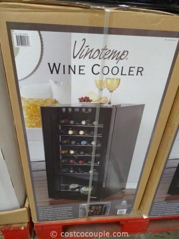 Vinotemp 34-Bottle Wine Cooler Costco