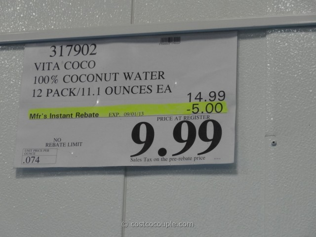 Vita Coco Coconut Water 12 Pack Costco 1