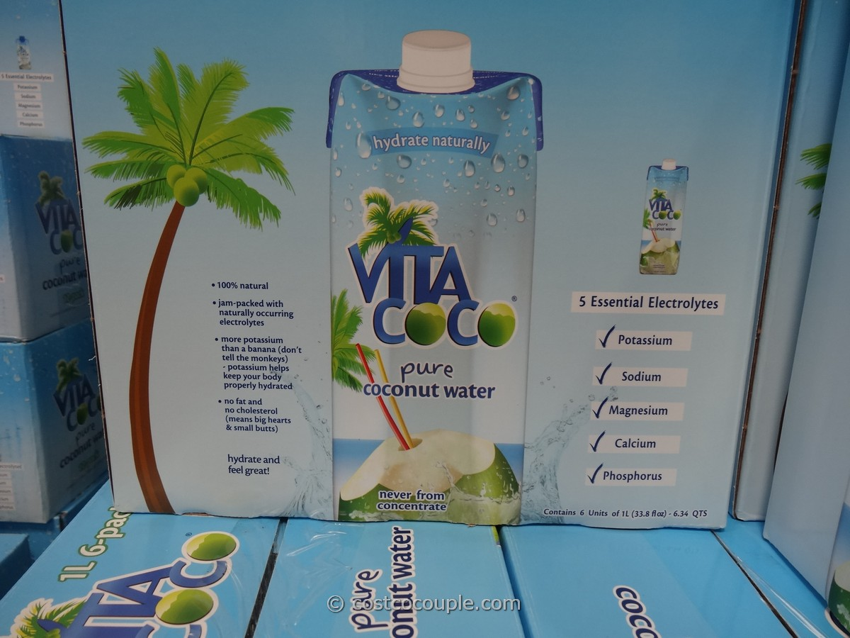 Vita Coco Coconut Water 6 Pack Costco 3