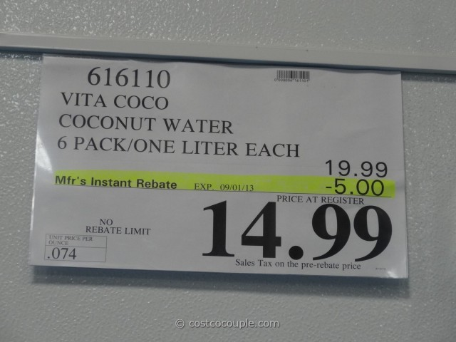 Vita Coco Coconut Water 6 Pack Costco 4