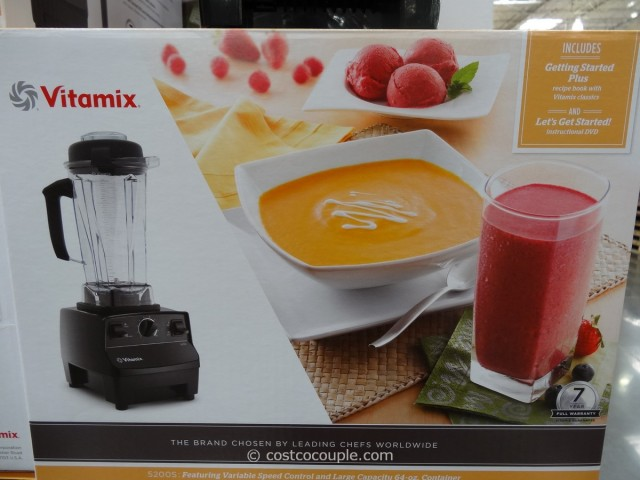 Vitamix 5200S High Powered Blender Costco 2