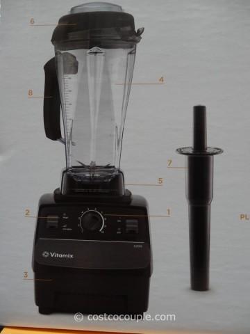 Vitamix 5200S High Powered Blender Costco 6