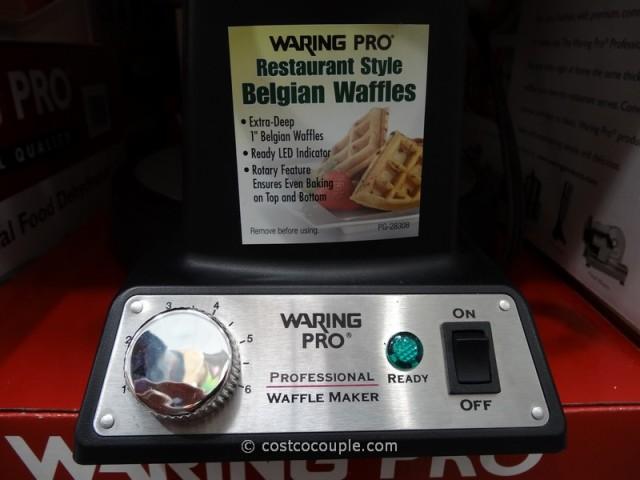 Waring Pro Professional Belgian Waffle Maker Costco