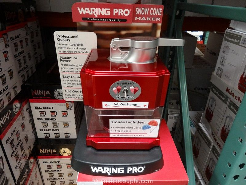 Waring Pro Snow Cone Maker Costco
