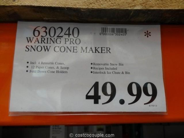 Waring Pro Snow Cone Maker Costco