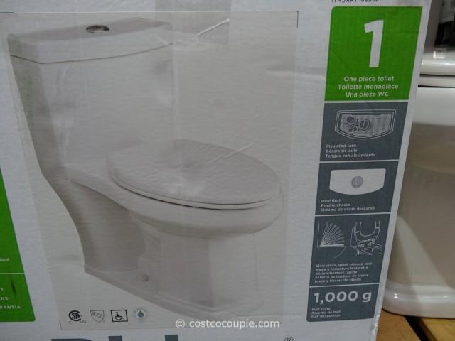 Water Ridge 1 Piece Elongated Toilet