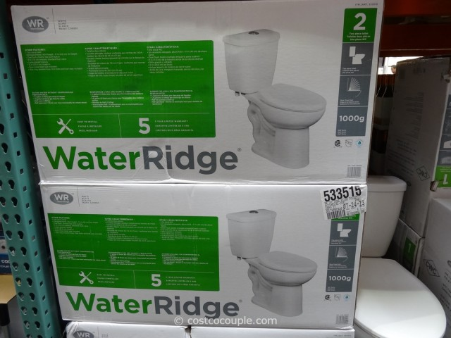 Water Ridge Dual Flush Toilet Costco 5