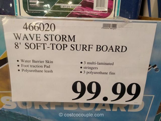 Wave Storm 8-Foot Surfboard Costco 1
