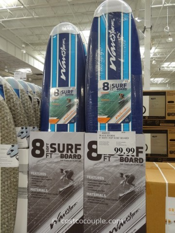 Wave Storm 8 Ft Soft-Top Surf Board Costco 4