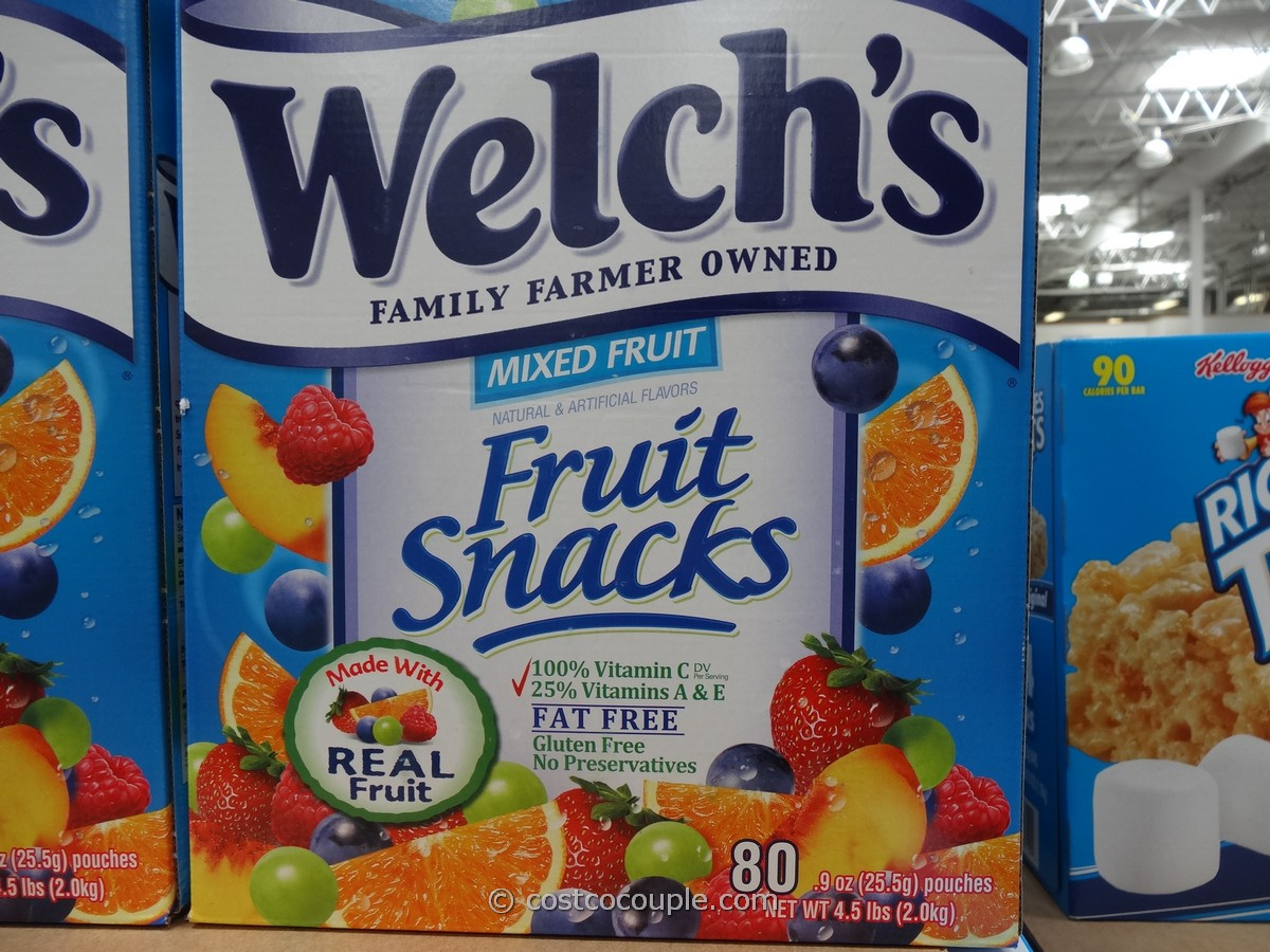 Welch's Fruit Snacks Costco 2