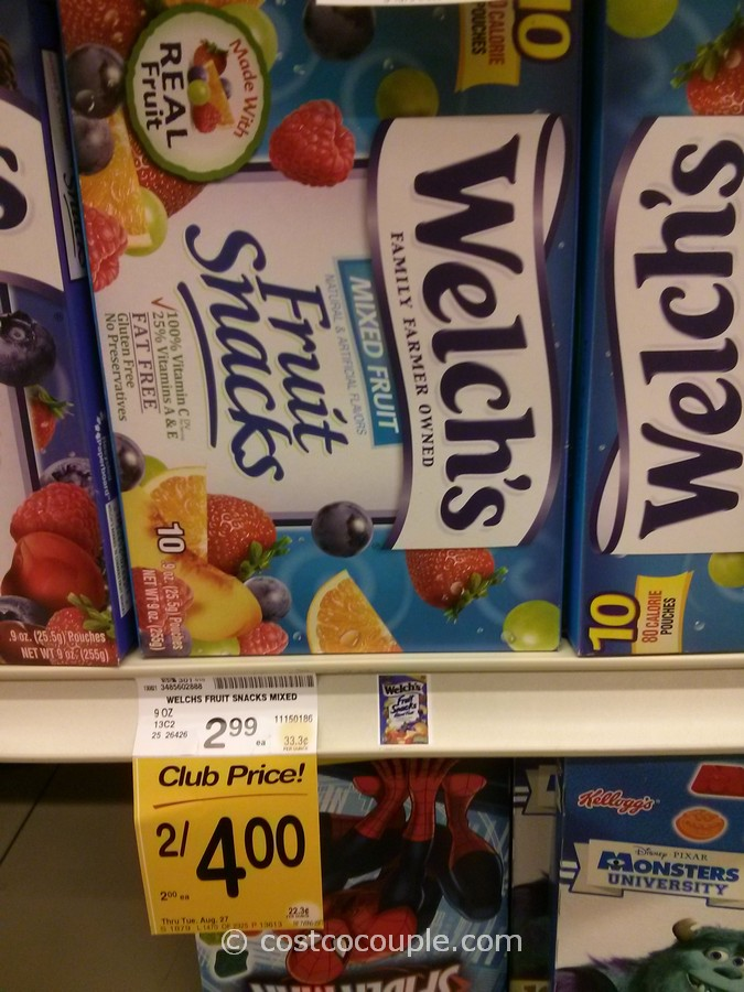 Welch's Fruit Snacks Safeway