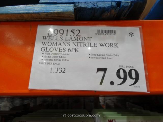 Wells Lamont Women's Nitrile Work Gloves Costco 1