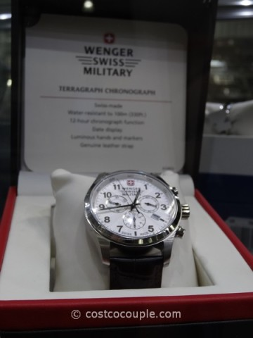 Wenger Swiss Terragraph Chronograph Costco