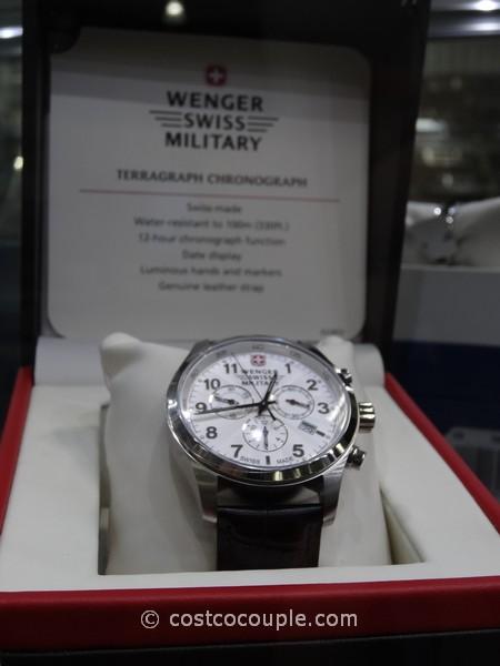 Wenger Swiss Terragraph Chronograph Watch