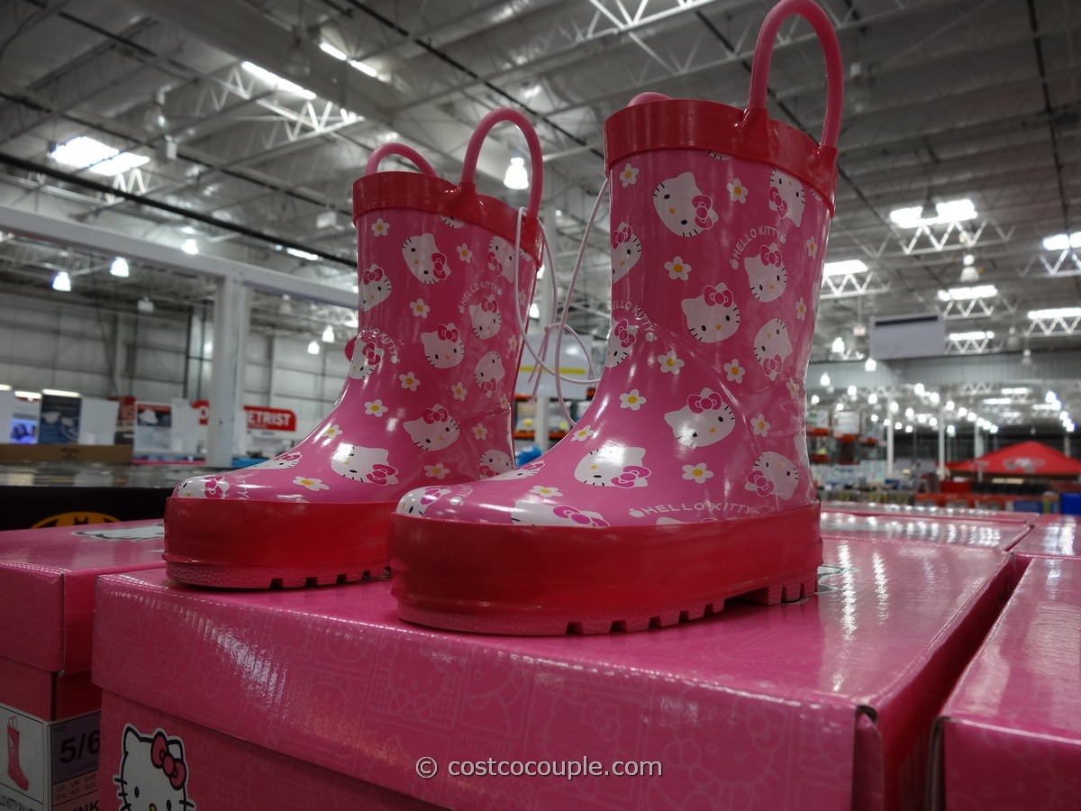 Western Chief Hello Kitty Girls Rain Boot Costco 1