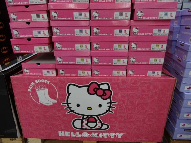 Western Chief Hello Kitty Girls Rain Boot Costco 2