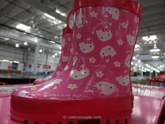 Western Chief Hello Kitty Girls Rain Boot Costco 3