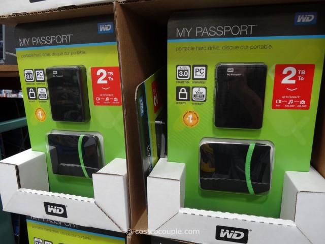 Costco Portable Tv : Western digital tb my passport