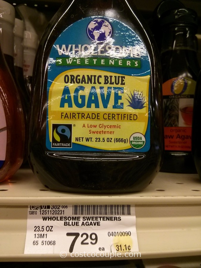 Wholesome Sweeteners Organic Blue Agave Safeway