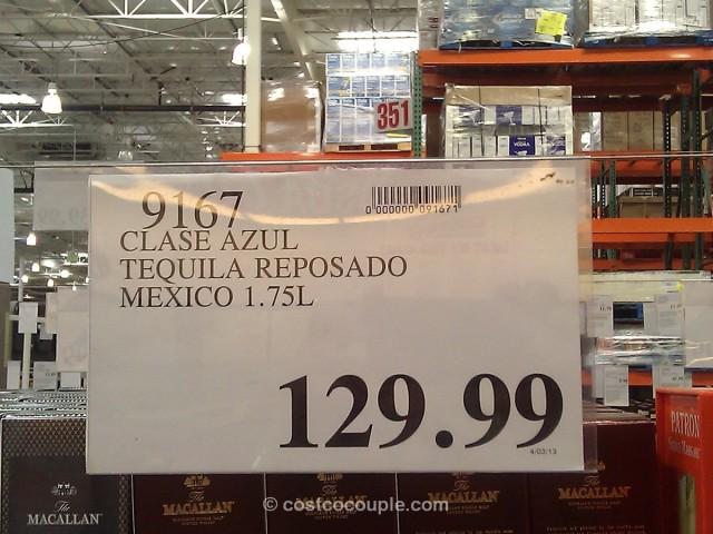 Clase Azul Tequila Reposada Costco 2