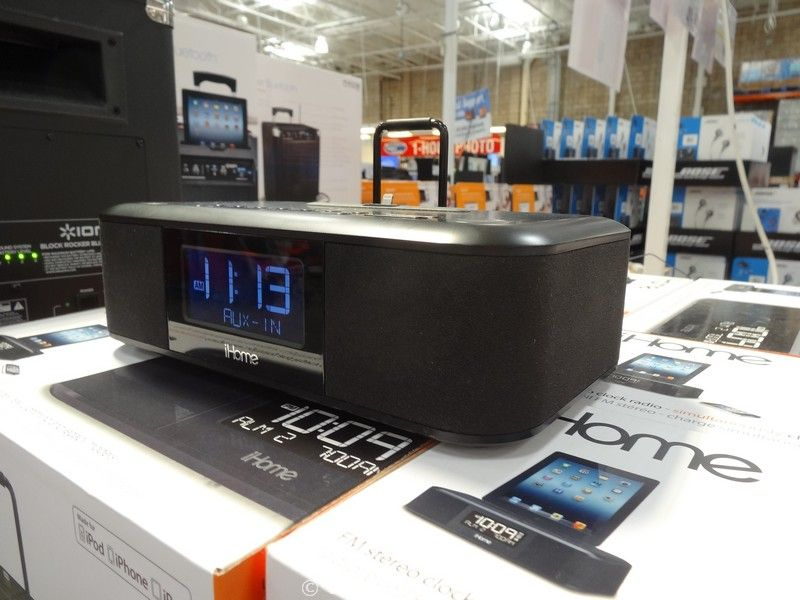 iHome Dual Alarm Clock Radio Costco