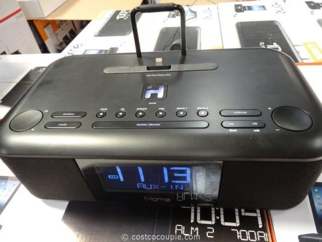 iHome Dual Alarm Clock Radio Costco