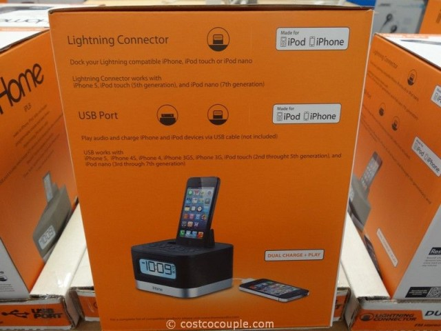 iHome IPL8 IPhone Lightning Dock Costco