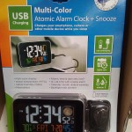 La Crosse Color LCD Alarm Clock Costco