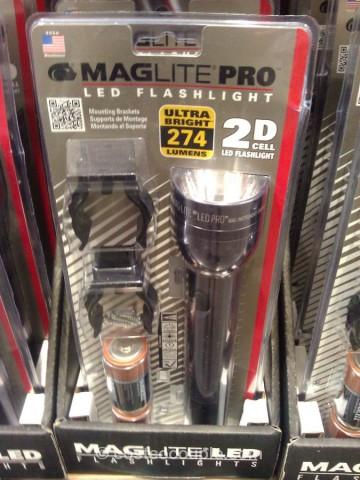 Maglite LED Pro Flashlight Costco 2