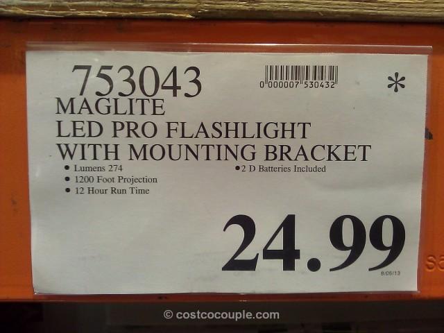 Maglite LED Pro Flashlight Costco 3