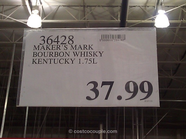 Maker's Mark Kentucky Bourbon Whisky Costco 2