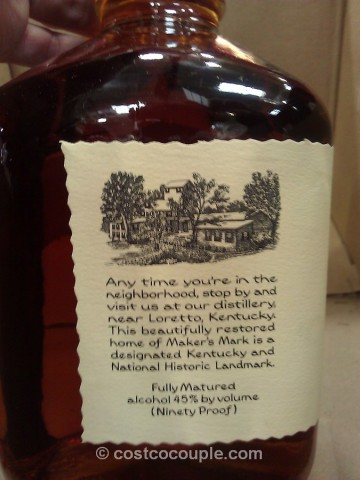 Maker's Mark Kentucky Bourbon Whisky Costco 4