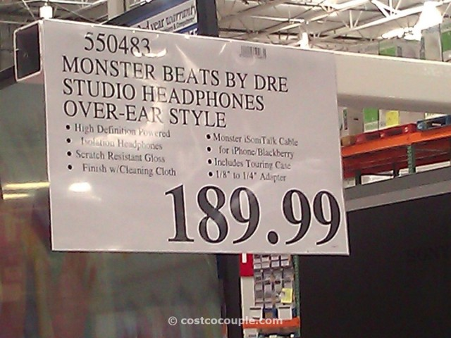 Monster Beats Studio Headphones Costco 7