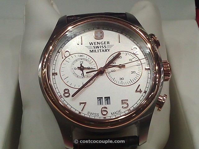 Wenger Swiss Military Rose Gold Chronograph Costco 1