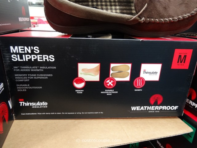 32 Degree Mens Weatherproof Slippers Costco 2