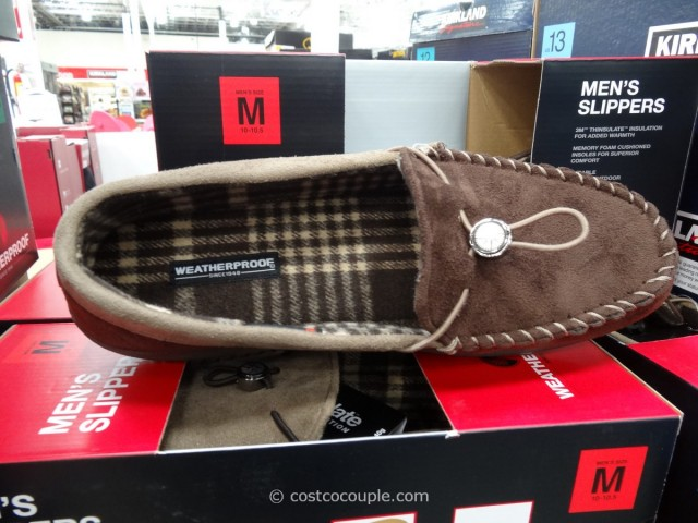 32 Degree Mens Weatherproof Slippers Costco 3