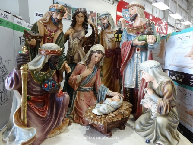 9-Piece Nativity Set Costco 1