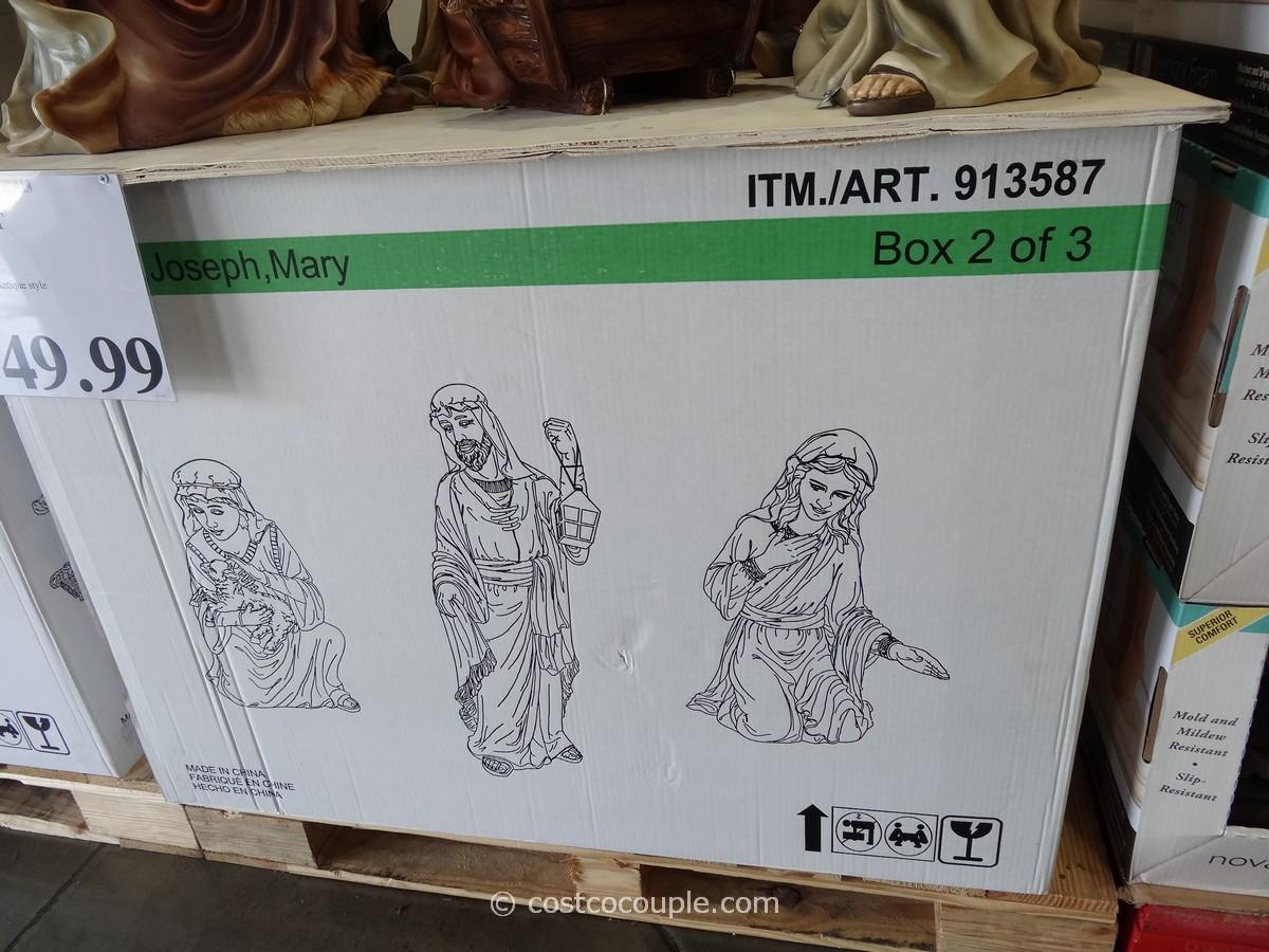 9 Piece Nativity Set