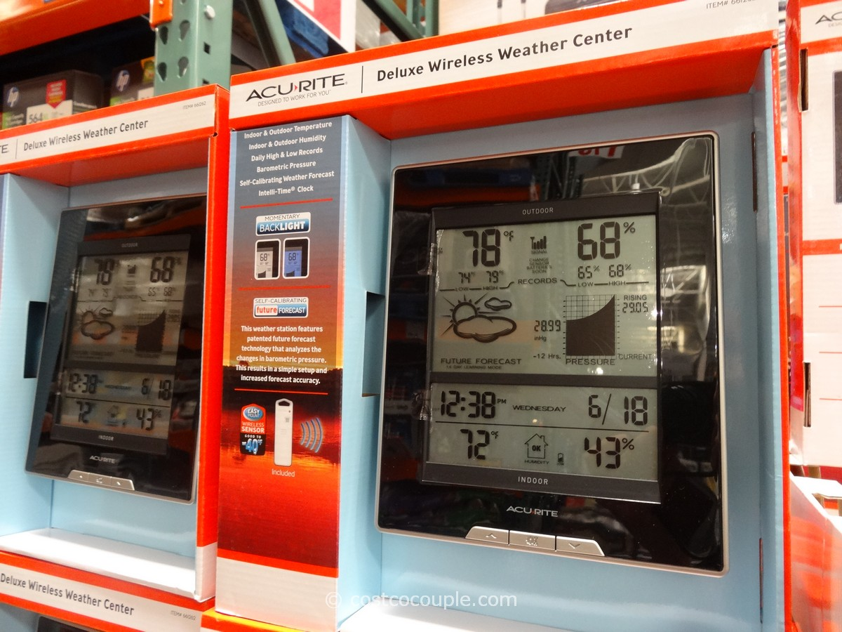 Acu-Rite Weather Station Costco 1