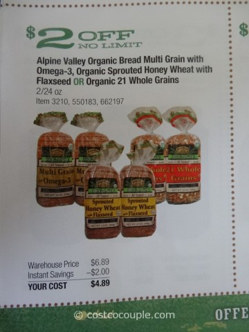 alpine valley organic bread costco 4 recipes ezekiel bread healthy