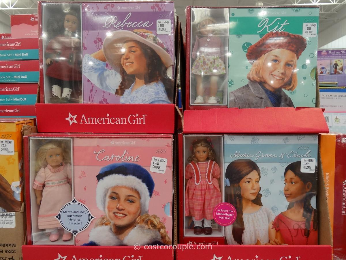 American Girl Box Set and Doll Costco 6