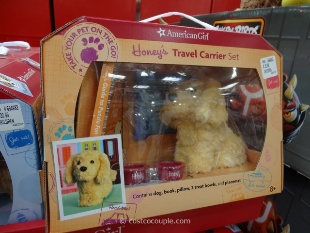 American Girl Travel Carrier Set Costco 1