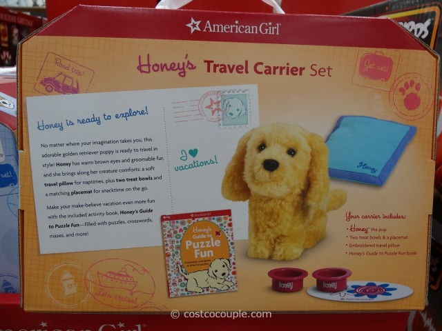 American Girl Travel Carrier Set Costco 2